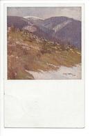 24818 - Landschatsbilder Aus Dem Gebiete Das Almatergebirge Signé Enrich Hürden 1919 - Schilderijen