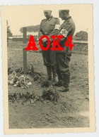 QUARTES Tournai Hainaut Mai 1940 Heldengrab Cimetiere Militaire Allemand Wehrmacht LOMMEL Pflügler Escaut - Guerre, Militaire