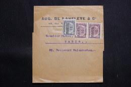 BELGIQUE - Préoblitérés De Bruxelles Et D'Anvers Sur Bande Commerciale Pour Paris - L 60688 - Precancels