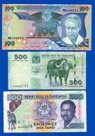 Tanzanie  6  Billets  Neuf - Nigeria