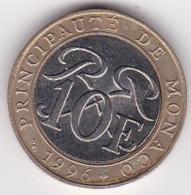 MONACO. 10 FRANCS 1996. RAINIER III. Bimétallique - 1960-2001 Nouveaux Francs