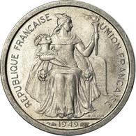 Monnaie, Nouvelle-Calédonie, Franc, 1949, Paris, SUP+, Aluminium, KM:2 - New Caledonia
