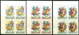 13180635 Belgium 19800308 Floralies Gantoises ND Bl4 N° 289 à 292 Cob1966-68 - Ongetande