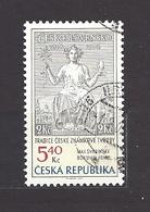 Czech Republic 2002 ⊙ Mi 312 Sc 3163 Max Svabinsky's Stamp From 1938, B. Heinz. Tschechische Republik. C7 - Czech Republic