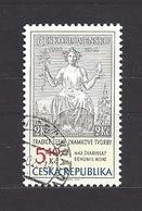 Czech Republic 2002 ⊙ Mi 312 Sc 3163 Max Svabinsky's Stamp From 1938, B. Heinz. Tschechische Republik. C8 - Czech Republic