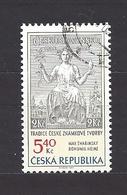 Czech Republic 2002 ⊙ Mi 312 Sc 3163 Max Svabinsky's Stamp From 1938, B. Heinz. Tschechische Republik. C9 - Czech Republic