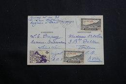 A.O.F. - Affranchissement Plaisant De St Louis Sur Carte De Correspondance Pour Toulouse Par Avion En 1945 - L 60701 - Lettres & Documents