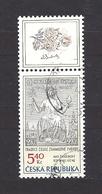 Czech Republic 2002 ⊙ Mi 312 Zf Sc 3163 Max Svabinsky's Stamp From 1938, B. Heinz. Tschechische Republik. C1 - Tchéquie