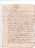 Généralité De Toulouse (Languedoc) 1 Sol & 4 Deniers Tarif De 1745 - Steuermarken