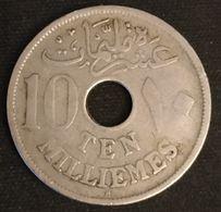 EGYPTE - EGYPT - 10 MILLIEMES 1917 H ( 1335 ) - KM 316 - ( Hussein Kamel ) - Aegypten