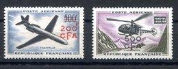 RC 17434 REUNION CFA COTE 62€ PA N° 56 / 57 -SÉRIE PROTOTYES NEUF ** TB MNH VF - Airmail