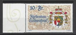 Liechtenstein - 1996 - Nuovo/new MNH - Stemma - Mi N. 1136 - Nuovi