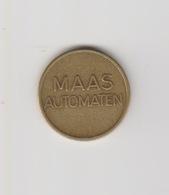 Penning-jeton-token Maas Automaten Son-eindhoven (NL) Automatische Drankenvoorziening - Netherland
