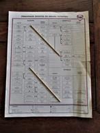 Overzicht  Principales  Societes  Du  Groupe  PETROFINA  1969 - Vervoer