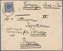 "China - Lokalausgaben / Local Post: China - Local Post - Nanking, 1895, ""LOCAL POST AGENCY N(A)NKI(N - Zonder Classificatie"