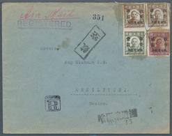 China - Provinzausgaben - Nordostprovinzen (1946/48): 1946, $1/$10, $2/$20and $5/$50 (pair) With Pen - Noordoost-China 1946-48