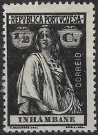 Inhambane – 1914 Ceres Type 1/2 Centavos Mint Stamp - Inhambane
