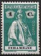 Inhambane – 1914 Ceres Type 1 Centavo Mint Stamp - Inhambane