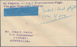 "Malaiische Staaten - Kedah: 1931, ""By Imperial Airways Experimental Flight / Via Alor Star-Port Darw - Kedah"