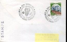 54484 Italia, Special  Postmark  L'aquila 1989  Giornata Ecologica,  Day Of  WWF, - Brieven En Documenten
