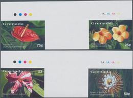 Thematik: Flora, Botanik / Flora, Botany, Bloom: 2003, GRENADA: Flowers Of The Caribbean Complete IM - Pflanzen Und Botanik