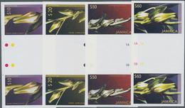 Thematik: Flora, Botanik / Flora, Botany, Bloom: 2004, JAMAICA: Christmas 'Mallow Buds' Complete Set - Pflanzen Und Botanik