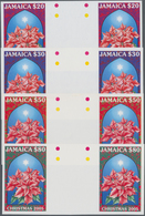 Thematik: Flora, Botanik / Flora, Botany, Bloom: 2005, JAMAICA: Christmas 'Poinsettia Plant' (Euphor - Pflanzen Und Botanik