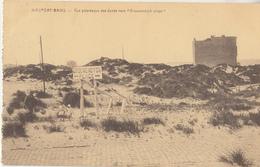 "Niueuwpoort Bad - Nieuport-Bains - Vue Panoramique Des Dunes Vers ""Groenendijck Plage"" - 1925 - Uitg. Hôtel-Café Léopold - Nieuwpoort"