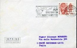 54487 Switzerland, Special Postmark 1984 Tropenwald Foret Tropicale WWF  Panda And Monkey  Affe - Brieven En Documenten
