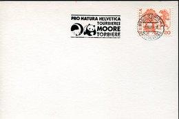 54488 Switzerland, Special Postmark 1985 WWF  Zurich  Pro Natura Helvetica - Brieven En Documenten