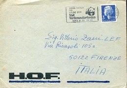 54489 Danmark, Special Postmark 1985  Pro Natura  , Panda  WWF - Brieven En Documenten
