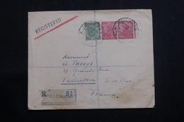 INDE - Enveloppe Commerciale ( Négociant En Timbres) De Bombay En Recommandé Pour La France En 1937 - L 60725 - 1936-47  George VI