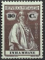 Inhambane – 1914 Ceres Type 30 Centavos Mint Stamp - Inhambane