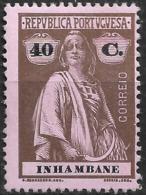 Inhambane – 1914 Ceres Type 40 Centavos Mint Stamp - Inhambane
