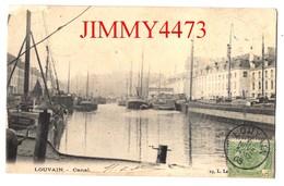 CPA - LOUVAIN ( Leuven ) Brabant Flamand - Canal En 1905 - N° 19 - Edit. L. La ( Sous Le Timbre ) - Leuven