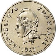 Monnaie, Nouvelle-Calédonie, 10 Francs, 1967, Paris, SPL, Nickel, KM:5 - New Caledonia