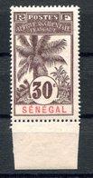 RC 17446 SENEGAL COTE 17,25€ N° 38 PALMIER BORD DE FEUILLE TRÈS FRAIS NEUF ** TB MNH VF - Unused Stamps