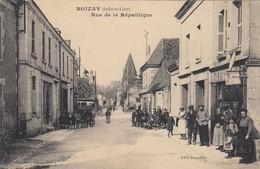 Noizay.  Rue De La République - Other Municipalities