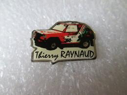PIN'S    RALLYE RAID   THIERRY  RAYNAUD - Rallye