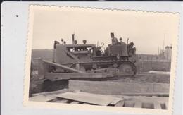 Photographie Militaire Algérie Tlemcen 62 E C G Z  Régiment Du Génie Travaux Tractopelle Circa 1960 Ref 200537 - Krieg, Militär