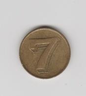 Penning-jeton-token 7-zeven-seven-sept-sette-shtatë-هفت-sieben-七 Qī-жети-セブン - Netherland
