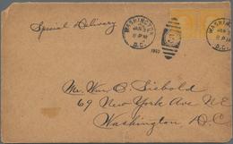 Vereinigte Staaten Von Amerika: 1922. 10c Franklin Perf 10 Rotary Coil (Scott 497), Horizontal Pair - Vereinigte Staaten