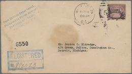 """Vereinigte Staaten Von Amerika: 1922, 50c Arlington Perf 11 (Scott 570), Tied By """"Washington D.C. No - Vereinigte Staaten"""