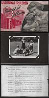 ROYAUME UNI (Famille Royale) Petit Album Complet De 8 Photos Amovibles De La Princesse Elisabeth + ................. - 1952-.... (Elizabeth II)