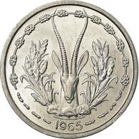 Monnaie, West African States, Franc, 1965, SPL, Aluminium, KM:3.1 - Monedas