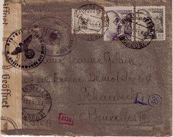 ESPAGNE ; GUERRE . D'UN INTERNE BELGE . AU CAMP DE CONCENTRATION DE MIRANDA DE EBRO . 1943 - 1931-Aujourd'hui: II. République - ....Juan Carlos I