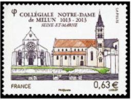"FR YT 4743 "" Collégiale De Melun "" 2013 Neuf** - Nuovi"