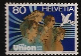 Suisse Helvetia 1991 N° 1382 ** Union Des PTT, La Poste, Fonctionnaires, Colombe, Courrier, Beauté, Service Public, UPU - Nuovi