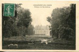 CPA - CHAUMONT-EN-VEXIN - CHATEAU DE LA BERTICHERES (IMPECCABLE) - Chaumont En Vexin
