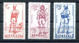 RC 17453 SENEGAL COTE 4,70€ N° 170 / 172 SÉRIE DÉFENCE DE L'EMPIRE  NEUF ** TB MNH VF - Senegal (1887-1944)